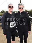 Ciara Finan and Elizabeth O'Shea who took part in the Annagassan 10K. Photo:Colin Bell/pressphotos.ie