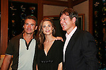 Kurt McKinney and Gina Tognoni and Frank Dicopoulos at the Goodbye to Guiding Light, 72 Years Young on August 19, 2009 at the Paley Center for Media, NYC, NY. (Photo by Sue Coflin/Max Photos)