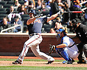 DAN UGGLA, of the Atlanta Braves, in action during the Braves game against the New York Mets on April 7, 2012 at Citi Field in Corona, NY. The Mets beat the Braves 4-2.