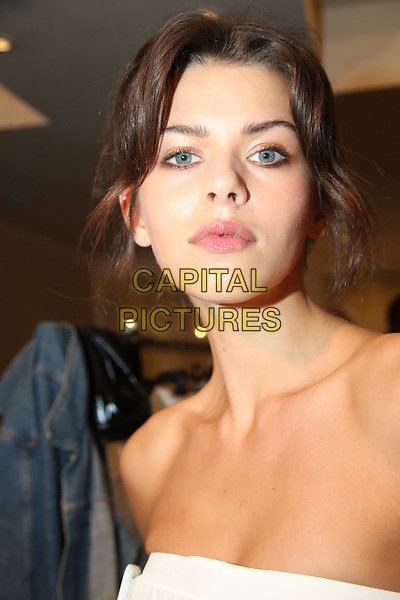 Daks<br /> backstage at fashion show at London Fashion Week<br /> Spring Summer 2018<br /> in London, England in September 2017.<br /> CAP/GOL<br /> &copy;GOL/Capital Pictures