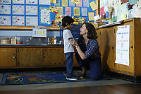 Maggie Gyllenhaal and Parker Sevak <br /> The Kindergarten Teacher (2018) <br /> *Filmstill - Editorial Use Only*<br /> CAP/RFS<br /> Image supplied by Capital Pictures