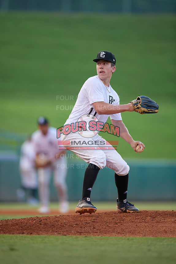 Justin Still (11) of Perry High School in Chandler, AZ during the Perfect Game National Showcase at Hoover Metropolitan Stadium on June 20, 2020 in Hoover, Alabama. (Mike Janes/Four Seam Images)