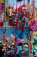 July 1995 file photo, Montreal, Quebec, Canada<br /> <br /> Various ornaments and gifts are displayed in front of a store in Montreal's Chinatown.<br />  <br /> <br /> Mandatory Credit: Photo by Pierre Roussel- Images Distribution. (&copy;) Copyright by Pierre Roussel <br /> ON SPEC<br /> NOTE 8x10 print scanned AND,saved in Adobe 1998 RGB.