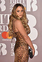 Charlotte Crosby<br /> The Brit Awards at the o2 Arena, Greenwich, London, England on February 22, 2017.<br /> CAP/PL<br /> &copy;Phil Loftus/Capital Pictures /MediaPunch ***NORTH AND SOUTH AMERICAS ONLY***