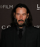 LOS ANGELES, CALIFORNIA - NOVEMBER 02: Keanu Reeves arrives at the LACMA Art + Film Gala Presented By Gucci on November 02, 2019 in Los Angeles, California.  <br /> CAP/MPI/IS<br /> ©IS/MPI/Capital Pictures