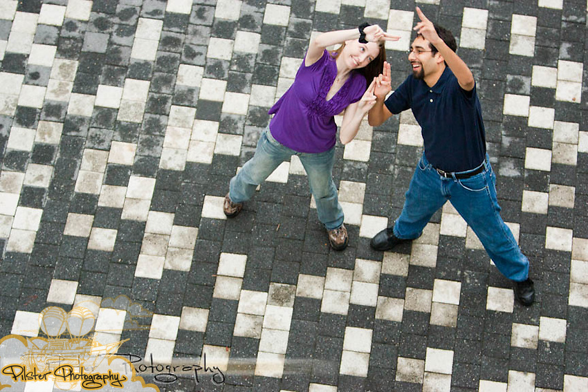 Rebecca Fraley and Gian-Karlo Alvarez during an engagement session on Saturday, May 14, 2011, at the University of Central Florida in Orlando, Florida. (Chad Pilster, Pilster Photography http://www.PilsterPhotography.net)