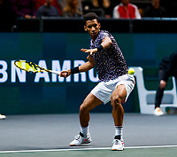 Rotterdam, The Netherlands, 15 Februari 2020, ABNAMRO World Tennis Tournament, Ahoy, <br /> Felix Auger-Alissime (CAN).<br /> Photo: www.tennisimages.com