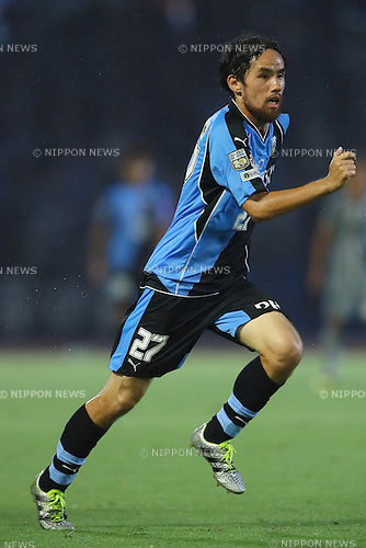 Shohei Otsuka (Frontale), <br /> SEPTEMBER 3, 2016 - Football / Soccer : <br /> The 96th Emperor's Cup All Japan Football Championship <br /> between Kawasaki Frontale 3-1 Blaublitz Akita <br /> at Kawasaki Todoroki Stadium, Kanagawa, Japan. <br /> (Photo by YUTAKA/AFLO SPORT)