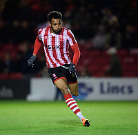 Lincoln City's Matt Green<br /> <br /> Photographer Chris Vaughan/CameraSport<br /> <br /> The EFL Checkatrade Trophy Northern Group H - Lincoln City v Wolverhampton Wanderers U21 - Tuesday 6th November 2018 - Sincil Bank - Lincoln<br />  <br /> World Copyright © 2018 CameraSport. All rights reserved. 43 Linden Ave. Countesthorpe. Leicester. England. LE8 5PG - Tel: +44 (0) 116 277 4147 - admin@camerasport.com - www.camerasport.com