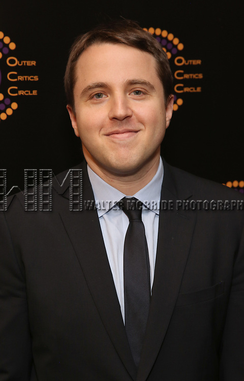 Joshua Harmon attends the 2018 Outer Critics Circle Theatre Awards at Sardi's on May 24, 2018 in New York City.