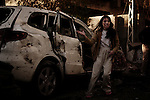 "Baghdad, Iraq  : Mon 25th Dec 2009 :...A girl cries after mother is killed in a devastating suicide car bomb explosion at Baghdad's Hamra hotel. From ""Yesterday's War, Today's Iraq,"" an ongoing series documenting Iraq and Iraqis as US forces withdraw from the country and media interest wanes. ..Ayman Oghanna"