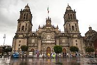 Cathedral, Zocalo, centro historico, Mexico City, Mexico