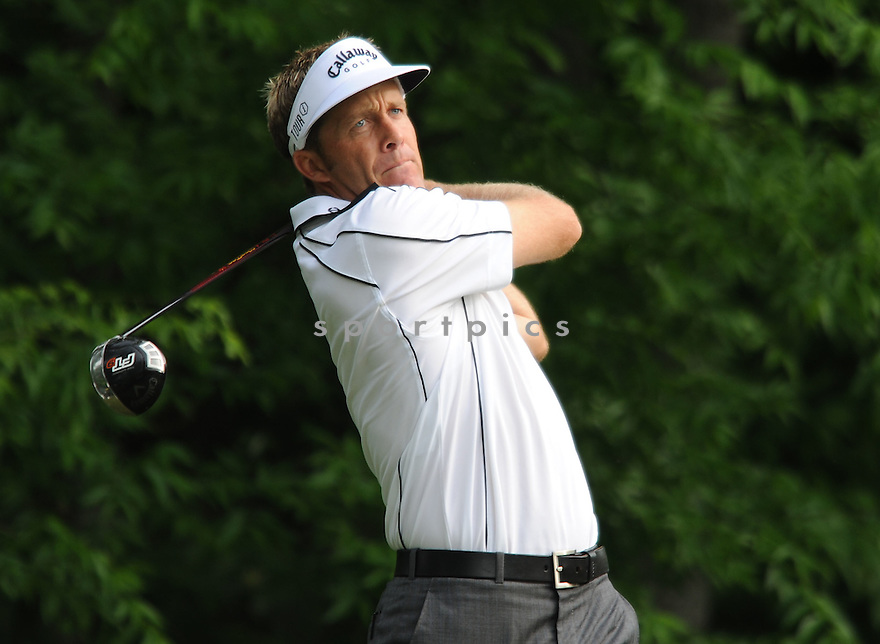 STUART APPLEBY,during a practice round of the Quail Hollow Championship, on April 29, 2009 in Charlotte, NC.