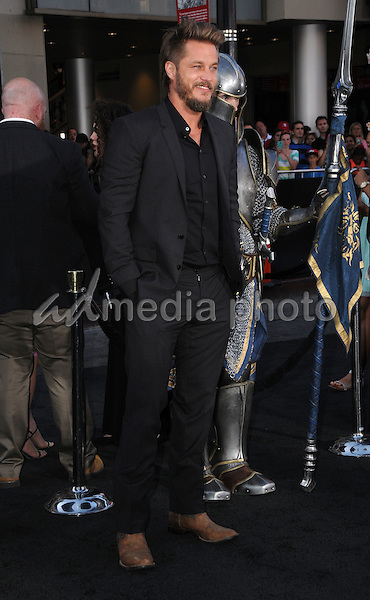 """06 June 2016 - Hollywood, California - Travis Fimmel. Arrivals for the Premiere Of Legendary Pictures and Universal Pictures' """"Warcraft"""" held at the TCL Chinese Theater IMAX. Photo Credit: Birdie Thompson/AdMedia"""