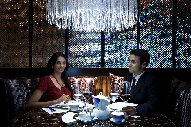 The brand new Blue Ginger restaurant at The Taj Palace Hotel, New Delhi.