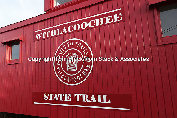 The Withlacoochee State Trail consists of a 46 mile stretch of former rail bed that has been converted into a paved multi-use recreational trail suitable for hiking, biking, and horse riding enthusiasts