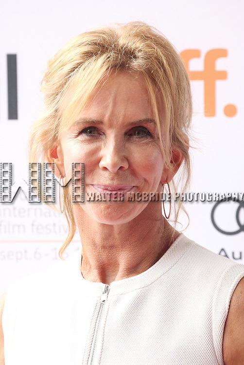 Trudie Styler attending the The 2012 Toronto International Film Festival.Red Carpet Arrivals for 'IMOGENE' at the Ryerson Theatre in Toronto on 9/7/2012