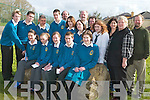 GETTING CREATIVE: Students who won prizes during their creative writing session in Mercy Mounthawk on Tuesday front l-r: Ann Marie Knipper, Rebecca Maunsell, Catherine Mannix, Darragh Carmody and Cassie McElligott. Back l-r: Conor Cleary, Christopher Lynch, Nicholas Liddane, PJ Galvin, Aoife Flanagan, Grace O'Reilly and Deborah Leahy.   Copyright Kerry's Eye 2008