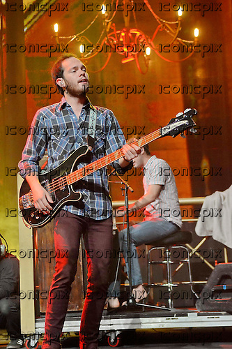 THE LUMINEERS - Ben Wahamaki and Stelth Ulvang - performing live on Day 3 of the iTunes Festival at the Roundhouse in London UK - 03 Sep 2013.  Photo credit: George Chin/IconicPix
