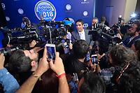SÃO PAULO, SP - 30.09.2018 - ELEIÇÕES-2018 - Cabo Daciolo, candidato à Presidência da República pelo PATRIOTAS, durante debate da Rede Record, realizado na sede da emissora no bairro da Barra Funda em São Paulo, na noite deste domingo, 30.(Foto: Levi Bianco/Brazil Photo Press)