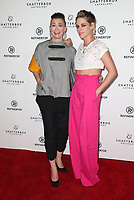 LOS ANGELES, CA - NOVEMBER 9: Amy Emmerich, Kristen Stewart, at the Los Angeles Premiere of Come Swim at the Landmark Theater in Los Angeles, California on November 9, 2017. Credit: November 9, 2017.   <br /> CAP/MPI/FS<br /> &copy;FS/MPI/Capital Pictures