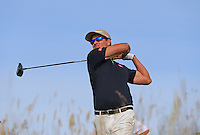 Adam Scott (AUS) tees off the 15th tee during Thursday's Round 1 of the 145th Open Championship held at Royal Troon Golf Club, Troon, Ayreshire, Scotland. 14th July 2016.<br /> Picture: Eoin Clarke | Golffile<br /> <br /> <br /> All photos usage must carry mandatory copyright credit (&copy; Golffile | Eoin Clarke)