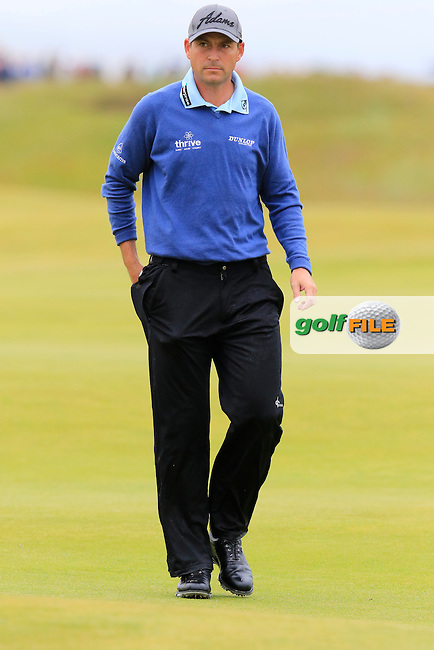 David HOWELL (ENG) walks off the 4th green during Sunday's Round  of the 144th Open Championship, St Andrews Old Course, St Andrews, Fife, Scotland. 19/07/2015.<br /> Picture Eoin Clarke, www.golffile.ie