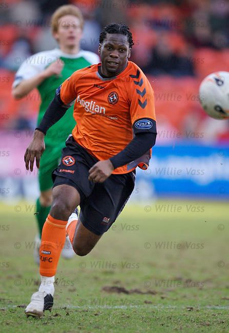 Collin Samuel, Dundee Utd.stock season 2006-2007.pic willie vass