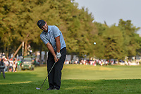 Patrick Reed (USA) chips on to 18 during round 4 of the World Golf Championships, Mexico, Club De Golf Chapultepec, Mexico City, Mexico. 2/24/2019.<br /> Picture: Golffile | Ken Murray<br /> <br /> <br /> All photo usage must carry mandatory copyright credit (© Golffile | Ken Murray)
