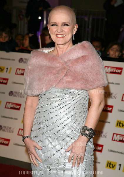 Bernie Nolan arriving for the 2010 Pride Of Britain Awards, at the Grosvenor House Hotel, London. 08/11/2010  Picture by: Alexandra Glen / Featureflash