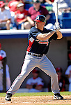 6 March 2007: Atlanta Braves outfielder Scott Thorman in Grapefruit League action against the Washington Nationals at Space Coast Stadium in Viera, Florida.<br /> <br /> Mandatory Photo Credit: Ed Wolfstein Photo