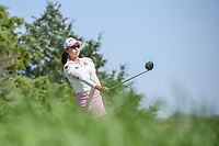 Mi Hyang Lee (KOR) watches her tee shot on 3 during round 2 of  the Volunteers of America LPGA Texas Classic, at the Old American Golf Club in The Colony, Texas, USA. 5/6/2018.<br /> Picture: Golffile | Ken Murray<br /> <br /> <br /> All photo usage must carry mandatory copyright credit (&copy; Golffile | Ken Murray)