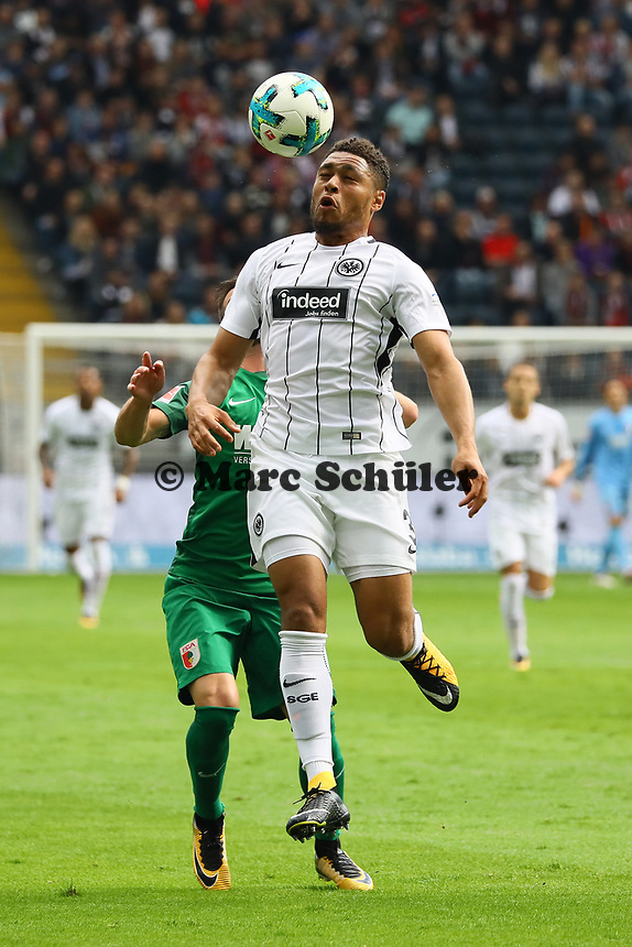 Simon Falette (Eintracht Frankfurt) - 16.09.2017: Eintracht Frankfurt vs. FC Augsburg, Commerzbank Arena