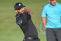Sergio Garcia (ESP) watches his tee shot on 11 during round 1 of the AT&T Byron Nelson, Trinity Forest Golf Club, at Dallas, Texas, USA. 5/17/2018.<br /> Picture: Golffile | Ken Murray<br /> <br /> <br /> All photo usage must carry mandatory copyright credit (© Golffile | Ken Murray)
