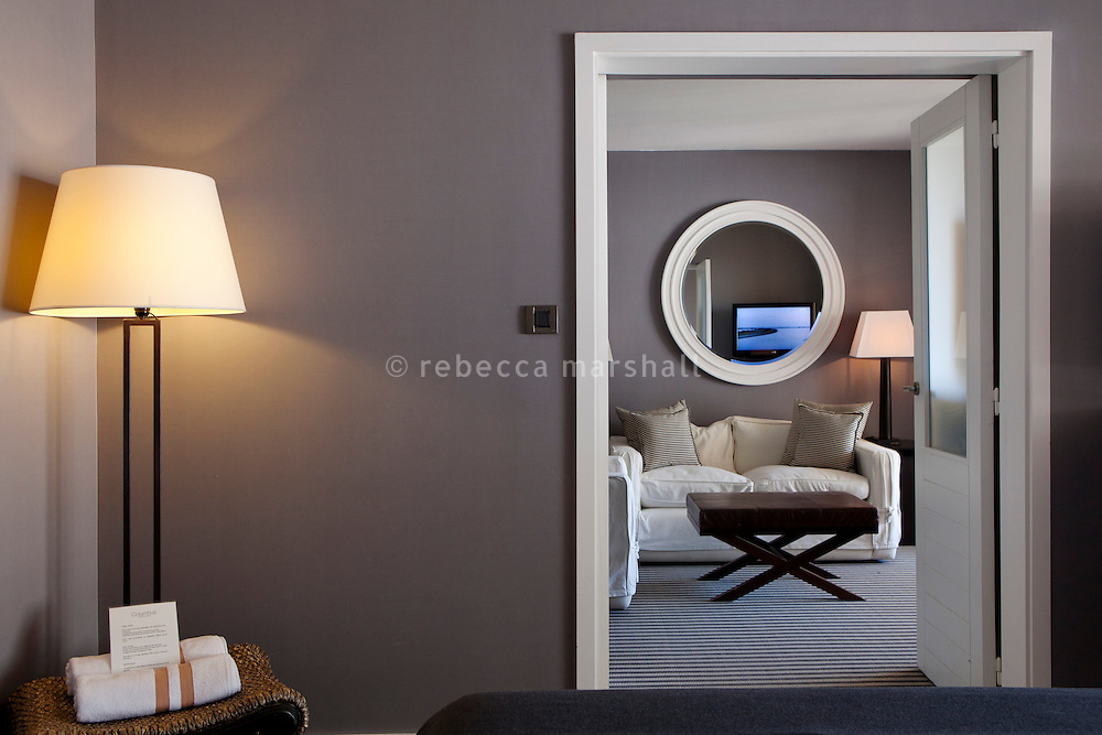 A suite in the Hôtel Columbus, Monaco, 6 July 2013