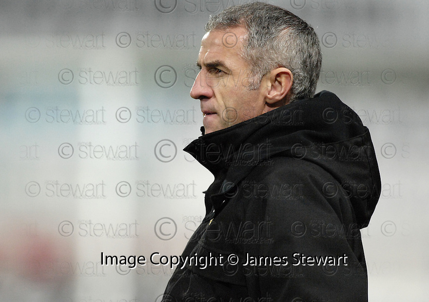 26/12/2007      Copyright Pic: James Stewart.File Name : sct_jspa13_falkirk_v_ict.CRAIG BREWSTER WATCHES HIS SIDE AGAINST FALKIRK.James Stewart Photo Agency 19 Carronlea Drive, Falkirk. FK2 8DN      Vat Reg No. 607 6932 25.Office     : +44 (0)1324 570906     .Mobile   : +44 (0)7721 416997.Fax         : +44 (0)1324 570906.E-mail  :  jim@jspa.co.uk.If you require further information then contact Jim Stewart on any of the numbers above.........