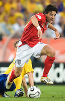 Owen Hargreaves (16) of England. England and Sweden played to a 2-2 tie in their FIFA World Cup Group B match at  FIFA World Cup Stadium, Cologne, Germany, June 20, 2006.