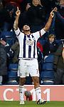 Jose Salomon Rondon of West Bromwich Albion celebrates his winning goal - English Premier League - West Bromwich Albion vs Manchester Utd - The Hawthorns Stadium - West Bromwich - England - 6th March 2016 - Picture Simon Bellis/Sportimage