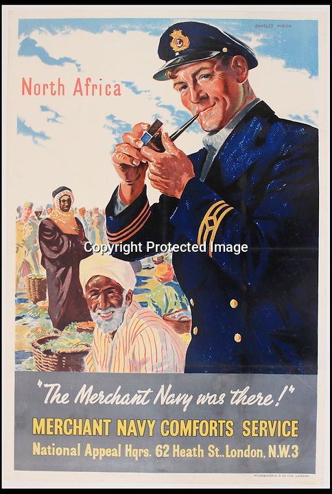 """BNPS.co.uk (01202 558833)<br /> Pic: Onslows/BNPS<br /> <br /> ***Please use full byline***<br /> <br /> A fascinating archive of propaganda posters used to boost the moral of British soldiers and citizens during the Second World War has emerged for sale.<br /> <br /> Among the collection are rousing images of Allied desert tanks destroying their Nazi opponents, marine commandos storming an occupied village and RAF bombers striking German factories.<br /> <br /> Others feature the capture of a German U-Boat and a British navy cruiser broadsiding an Italian submarine.<br /> <br /> The scenes are accompanied by equally stirring messages reassuring that """"the fall of the dictators is assured"""" and that Great Britain was the """"defender of liberty"""".<br /> <br /> Many of the posters were destined for display overseas where troops had little idea of how the Allies were faring against the Nazis overall."""