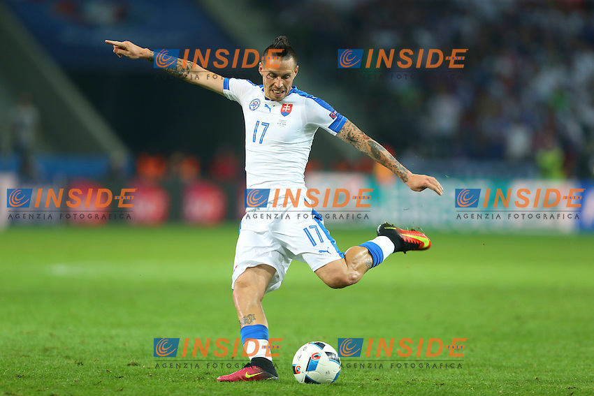Marek Hamsik Slovacchia<br /> Lille 15-06-2016 Stade Pierre Mauroy Footballl Euro2016 Russia - Slovakia / Russia - Slovacchia Group Stage Group B. Foto Gwendoline Le Goff / Panoramic / Insidefoto