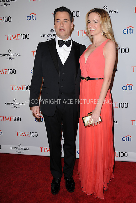 WWW.ACEPIXS.COM . . . . . .April 23, 2013...New York City....Jimmy Kimmel and Molly McNearney attend TIME 100 Gala, TIME'S 100 Most Influential People In The World at Jazz at Lincoln Center on April 23, 2013 in New York City ....Please byline: KRISTIN CALLAHAN - ACEPIXS.COM.. . . . . . ..Ace Pictures, Inc: ..tel: (212) 243 8787 or (646) 769 0430..e-mail: info@acepixs.com..web: http://www.acepixs.com .