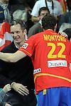 Undargarin & Montoro. SPAIN vs SLOVENIA: 26-22 - Semifinal.