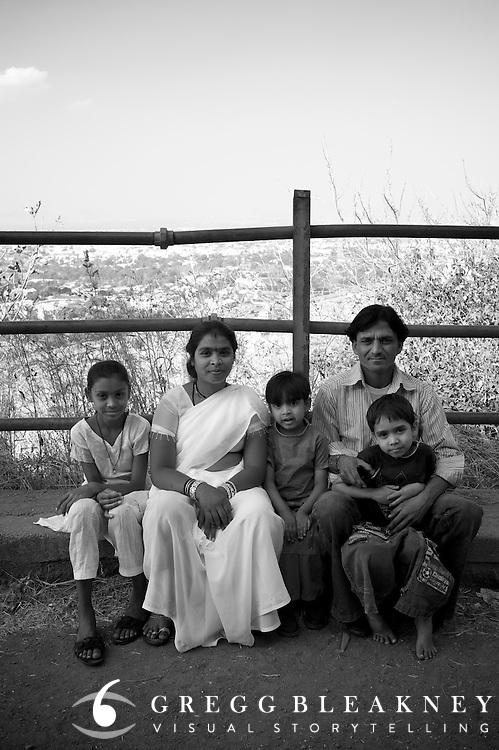 Family Portrait - Nashik, India