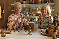 Swinging Safari (2018)  <br /> (Flammable Children)<br /> Kylie Minogue and Guy Pearce <br /> *Filmstill - Editorial Use Only*<br /> CAP/MFS<br /> Image supplied by Capital Pictures
