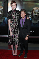 "HOLLYWOOD, LOS ANGELES, CA, USA - APRIL 03: Karen Gillan, Garrett Ryan at the Los Angeles Screening Of Relativity Media's ""Oculus"" held at TCL Chinese 6 Theatre on April 3, 2014 in Hollywood, Los Angeles, California, United States. (Photo by Xavier Collin/Celebrity Monitor)"