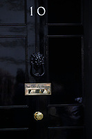 LONDON, ENGLAND - JUNE 04: Door to10 Downing Street, during the second day of Trump State Visit on June 4, 2019 in London, England. <br /> CAP/GOL<br /> ©GOL/Capital Pictures