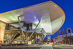The Boston Convention and Exhibition Center in the Innovation District, Boston, Massachusetts, USA