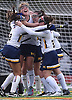Massapequa teammates celebrate after their 2-1 overtime win over Port Washington in the Nassau County varsity field hockey Class A final at Berner Middle School in Massapequa on Sunday, Oct. 28, 2018.
