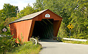The Cooley covered bridge in Pittsford Vermont spans Furnace Brook, a tributary of Otter Creek. Well situated and photogenic, this little bridge is definitely worth a visit !