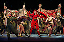 London, UK. 01.04.2014. The Kolobov Novaya Opera presents PRINCE IGOR at the London Coliseum. Picture shows: Act II - Polovtsian Camp. Photograph © Jane Hobson.